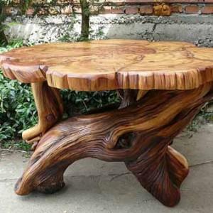 Деревянный кофейный столик Милорд