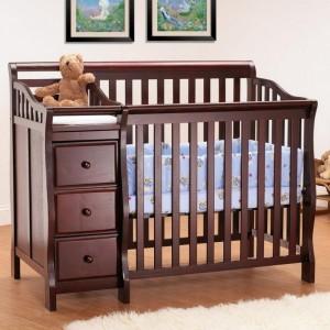 Детская кроватка с бортиками Инфанта