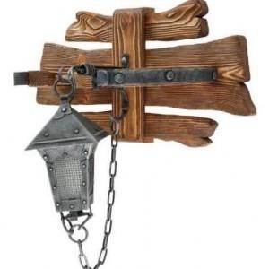 настенный Деревянный светильник под старину