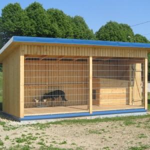 просторный Вольер для собаки