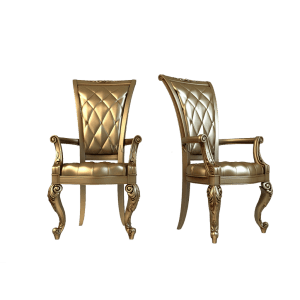 резные деревянные кресла