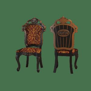 Резной стул со спинкой
