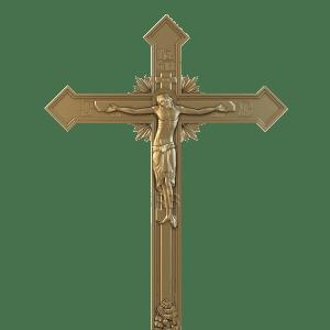 распятие на деревянном кресте