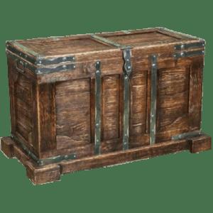 Напольный деревянный сундук под старину