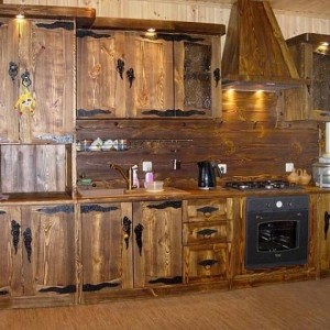мебель для кухни из дерева