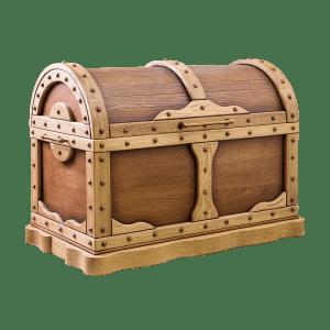Напольные деревянные сундуки