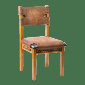 Резные стулья и кресла из дерева с мягкой обивкой