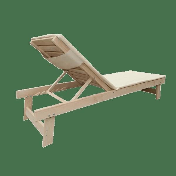 Деревянный лежак