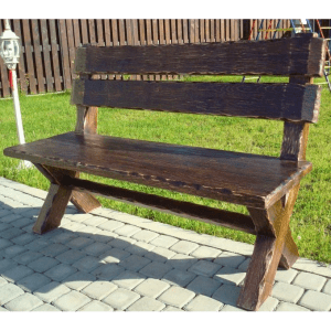 Деревянная скамейка Эконом
