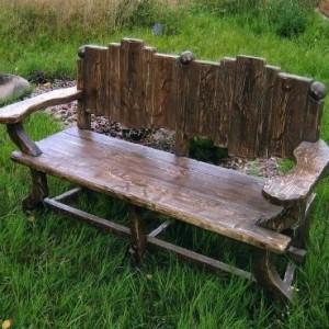 Скамейка под старину