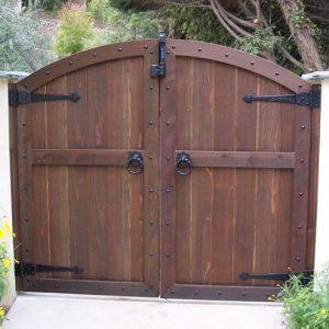 Компактные Деревянные ворота