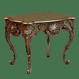 Эксклюзивный стол с резными узорами