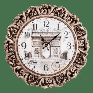 Настенные Часы с гравюрой Парижа