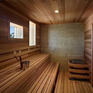 отделка бани внутри