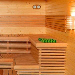 обшивка бани внутри из дерева