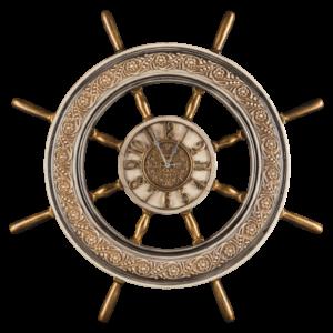 Деревянный штурвал корабля в качестве сувенира
