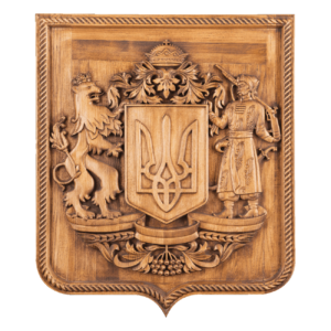 Гербы Украины на стену кабинета