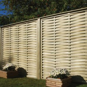 Woven Fence Panels