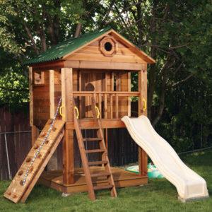 Детские деревянные домики