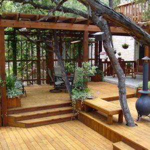 Деревянные террасы для частных домов